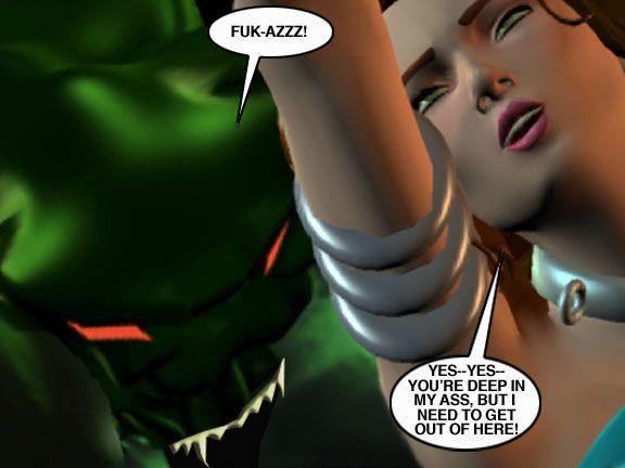 Mindy - Sex Slave On Mars c326-350 - part 10