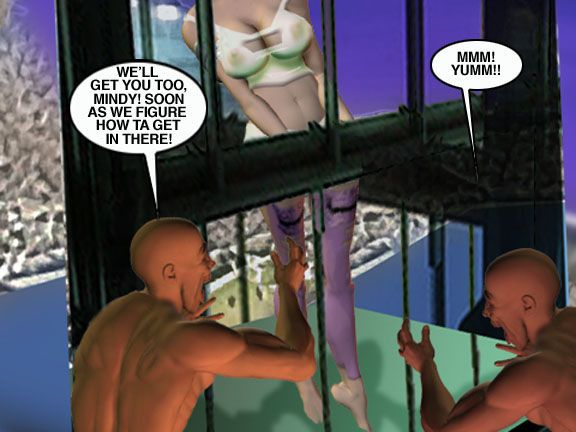 Mindy - Sex Slave On Mars c326-350 - part 12