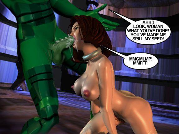 Mindy - Sex Slave On Mars c301-325 - part 11