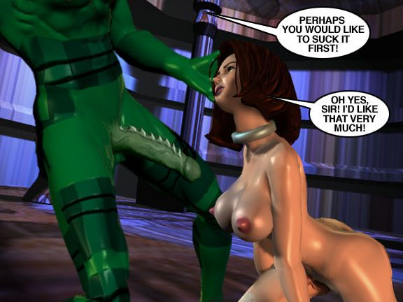 Mindy - Sex Slave On Mars c301-325 - part 11