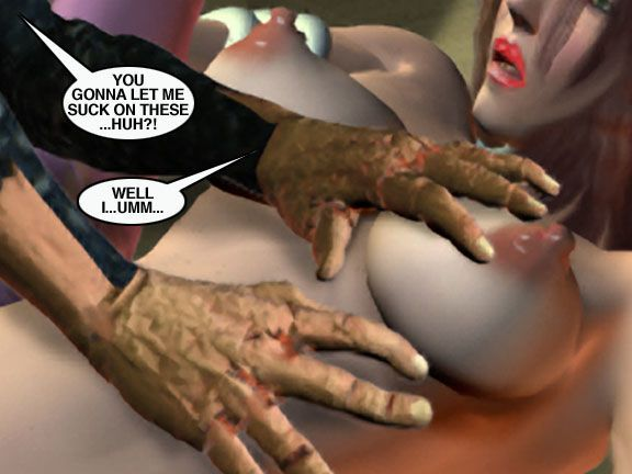 Mindy - Sex Slave On Mars c301-325 - part 17