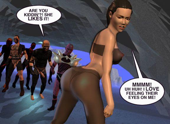 Mindy - Sex Slave On Mars c226-250 - part 9
