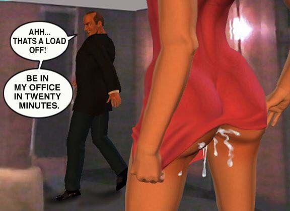 Mindy - Sex Slave On Mars c001-025 - part 2