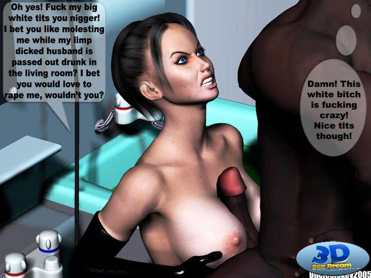 Black Cock Sex Slave Uncley Sickey 3d Comic +Bonus Comics - part 3