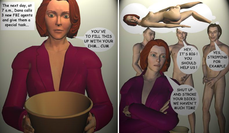 Agent Dana Scully in