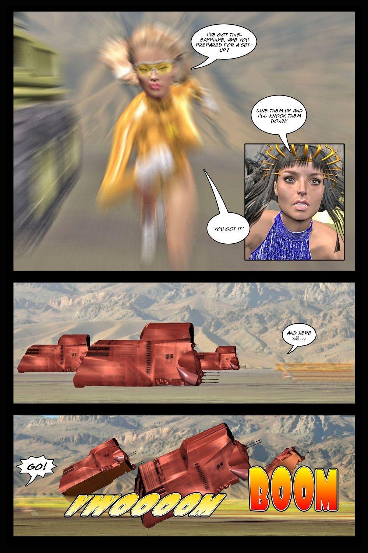 [3D] Platinum Earth 19-21 - part 2