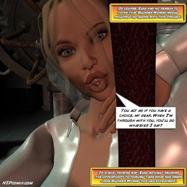 Blunder Woman Vs. Mother Superior [English] - part 3