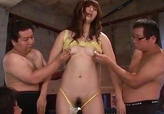 Amazing Mami Yuuki deals cocks in group action - 12 min