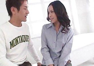 Hot milf Shinobu goes nasty on cock - 8 min