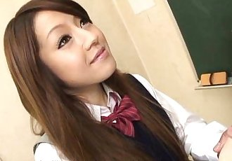 Asian schoolgirl has lots of cocks to fuck around with - 1 min 9 sec