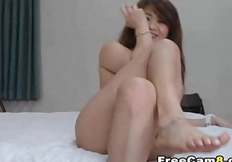 Hot Asian Chick Masturbate with her Toy and gets Huge Orgasm - 11 min
