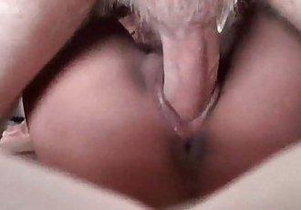 White Cock Stuffs Her Filipina Pussy - 5 min HD