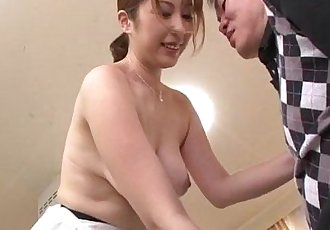 Nothing like a big dick to please cock sucking  Araki Hitomi - 12 min