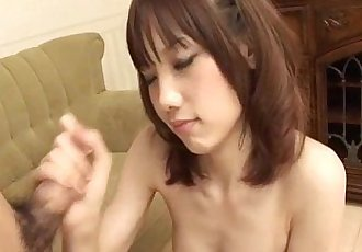 Sensual Ageha Kinashita craves to swallow some jizz - 12 min