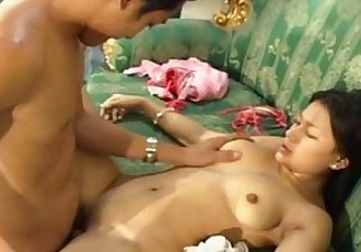 Asian teen fucked by her BF - 6 min