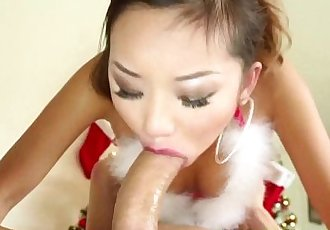 Asian slut throating cock - 5 min