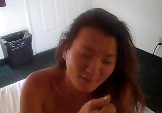 Asian slut takes Mr Browns Cock - 10 min
