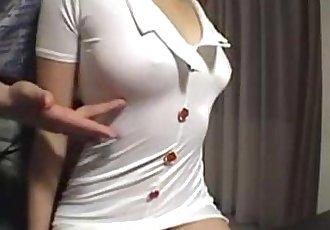Hairy Japanese slut gets fucked on cam - 54 min
