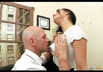 HOT Asian exec Asa Akira is fucked by her employee for promotion - 7 min HD