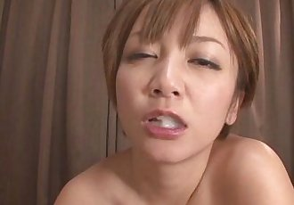 MILF Meguru Kosaka Sucks Dick And 69s In POV - 8 min