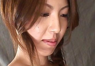 Cute Tomoe Hinatsu foot fetish - 5 min