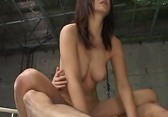 Double Cock Sucking For Maki Hoshino - 5 min