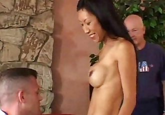 Mrs. Wang Interracial Asian Swinger - 25 min