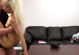 Hot Blonde Asian Assfucked and Creampie - 10 min HD