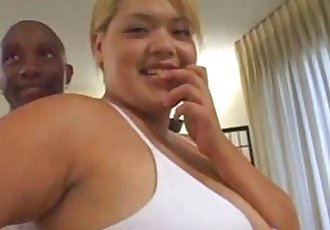 Sexy Chubby Blonde Asian BBC Threesome with Huge Facial - abuserporn.com - 17 min