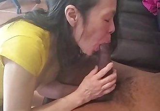 Asian Girl Sucks BBC - Chat With Her @ Asiancamgirls.mooo.com - 3 min
