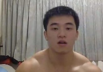 asian hunk big cumshot