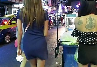 Thai Girls - Gogo Dancers VS. Bar Girls Which Are Better HIDDEN CAMERA - THAI - 11 min