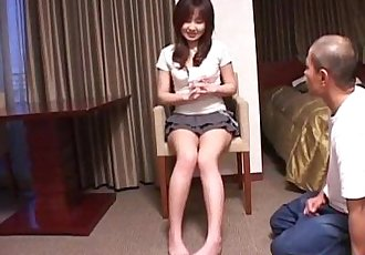 Top rated porn scenes along slutty Nanami Komachi - 10 min