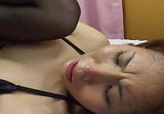 Hot Asian Erika Okazaki blowjob - 5 min