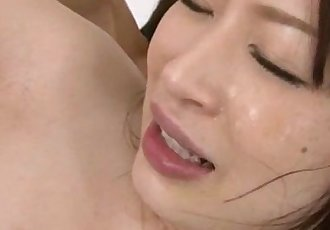 Riko Oshima cute babe nailed and made to swallow - 12 min