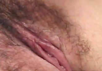 Unknown Model has cunt aroused and fucked by guys in threesome - 10 min