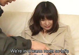 Uncensored ENF CMNF Japanese private parts check Subtitled - 5 min