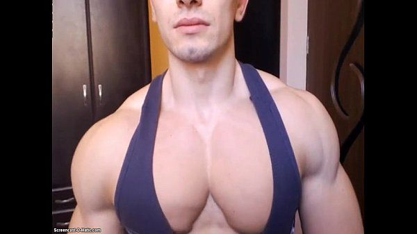 Muscle Flex Hunk Big Pec