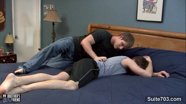 Sexy gay gets ass fucked and cock jizzedHD