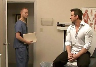Hot gay gets ass inspected by doctorHD