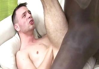 Latino Gay Suck A Black Cock And Have Bareback