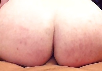 Chubby guy gets fucked by a big cock!
