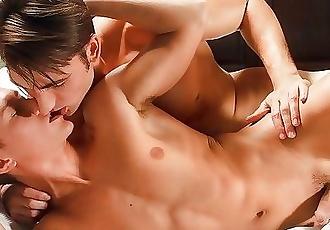 Helix jock Luke Wilder and Tyler Hill bareback massage fuck
