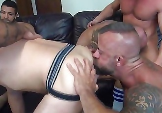 Alex Mason Raw Birthday Gangbang