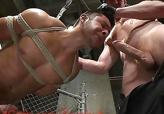 Officer Connor Maguire Punishes Muscled Inmate