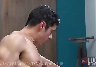 Massive Latino Cock Fucks Tight Twink Boy Hole