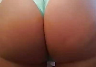 Bubble bum booty femboy shaking ass