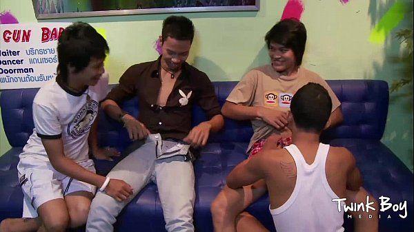 TWINK BOY MEDIA All Asian Twink FoursomeHD