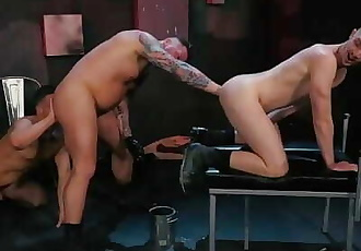 ClubInfernoDungeon Cute Chubby Euro Daddy Shoves ARM Up Ass Hole