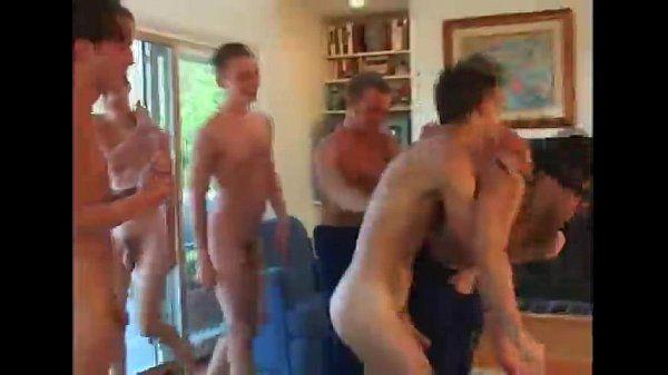Bareback Orgy with Twinks